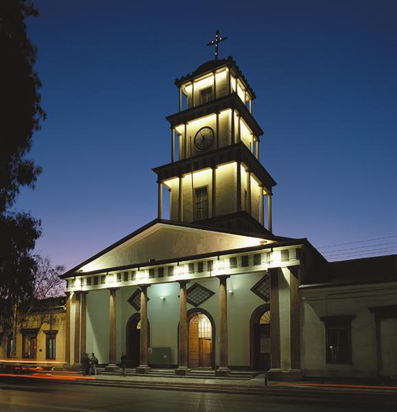Catedral de Copiapó - OP Iluminación